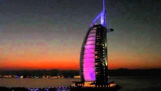 Burj Al Arab im Farbenspiel 4k FZ1000 Autofocus