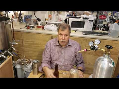 A 2 Liter, Small Batch Force Carbonating & Counter-Pressure Bottling System