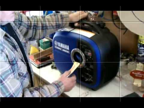 Best portable generator yamaha ef2000is 2 000 watt 79cc for Yamaha propane inverter generator