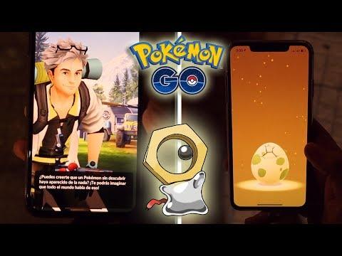 ¡COMPLETANDO INVESTIGACIONES ESPECIALES 1, 2 y 3 en Pokémon GO! A por MELTAN! [Keibron] thumbnail