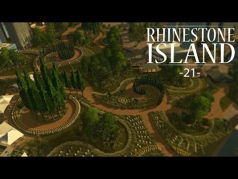 "Cities Skylines - Rhinestone Island [PART 21] ""Massive Downtown Garden!"""