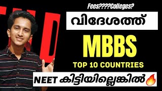 Study Mbbs Abroad in Malayalam Best Countries,Colleges,Fees? Admission,Guide,NEET Marks Full Details