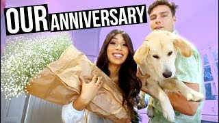 connectYoutube - OUR ONE YEAR ANNIVERSARY! | MYLIFEASEVA VLOGMAS DAY 1 2017