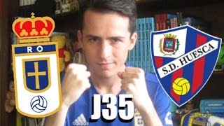 Vlog JORNADA 35   Real Oviedo 1-1 Huesca   #ElCarroDeFe   Liga 123