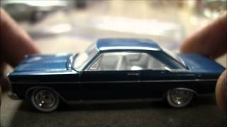 GreenLight 1965 Ford Galaxie, 1959 Chevy Corvette & Plymouth Road Runner!
