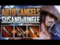 Auto Cancels | Susano Jungle Gameplay (SMITE Conquest)