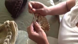 Repeat youtube video Gorro de trenza de crochet