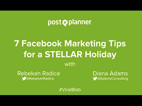 7 Facebook Marketing Tips for a Stellar Holiday