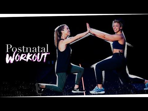 WORKOUT- Postnatal Workout For Diastasis Recti