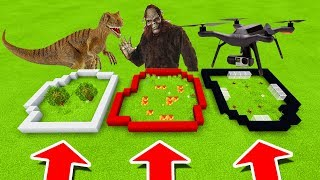 Minecraft PE : DO NOT CHOOSE THE WRONG FARM! (SCP-250, BigFoot, SCP-160)