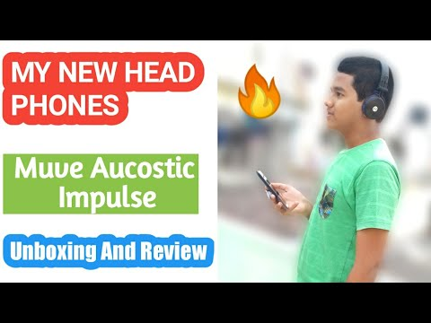 My New Headphones| Muve Acoustics Impulse| Unboxing and Review| Shafi Technique