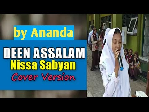 Deen Assalam - Sabyan Coper By Ananda Suara Imut Dan Unik