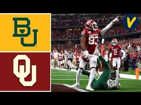 #7 Baylor vs #6 Oklahoma Highlights | 2019 Big 12 Championship