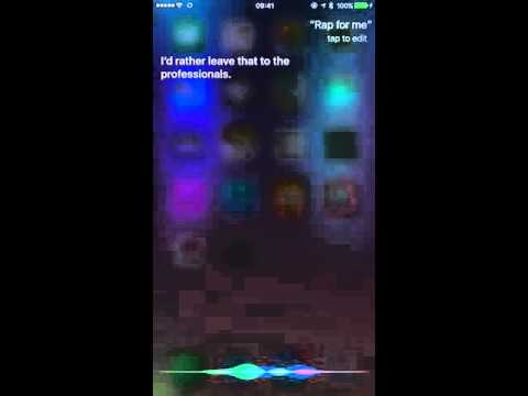 how to get siri to say boots and cats