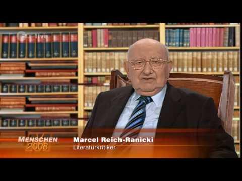 Menschen 2008 - Marcel Reich Ranicki - Sein Autritt beim Fernsehpreis und ein Statement dazu (HQ)