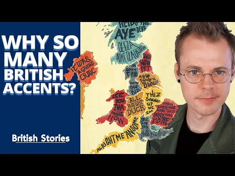 Why are there so many British accents?