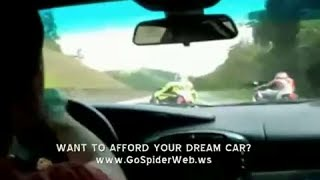 Insane Highway Driving Bike vs Car