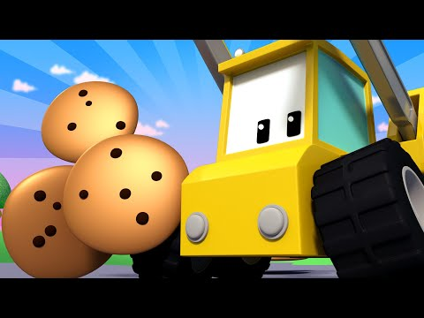 - Tiny Trucks for Kids with Street Vehicles Bulldozer, Excavator & Crane