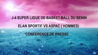 J-4 Super Ligue de Basket-ball du Bénin / Elan Sportif # Aspac (Hommes)