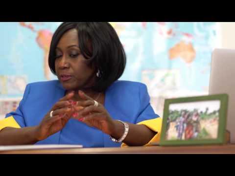 Diamond Empowerment Fund Celebrates Dorothée Gizenga