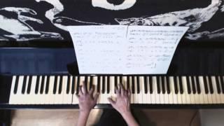 一青窈の「ハナミズキ」(作曲:マシコタツロウ)をなるべく楽にピアノ...