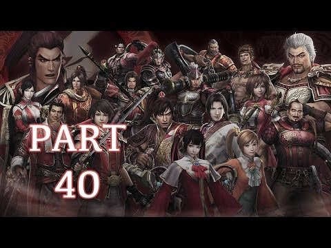 Dynasty Warriors 8 Walkthrough PT. 40 - Battle of New Hefei Castle (Zhou Tai)