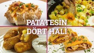 Patatesin Dört Hali (Seç Beğen!)  | Yemek.com