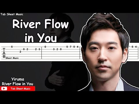 Yiruma - River Flow in You Guitar Tutorial