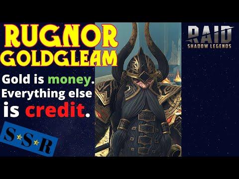 Rugnor Goldgleam: Greed is good! | Raid: Shadow Legends