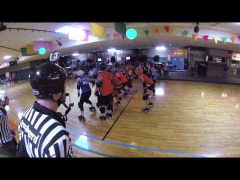 07202014 South Florida Rollergirls vs Jacksonville JVillains