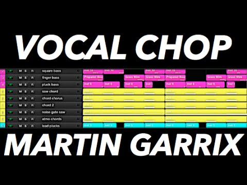 Vocal Chop Melody like Martin Garrix in Logic Pro...