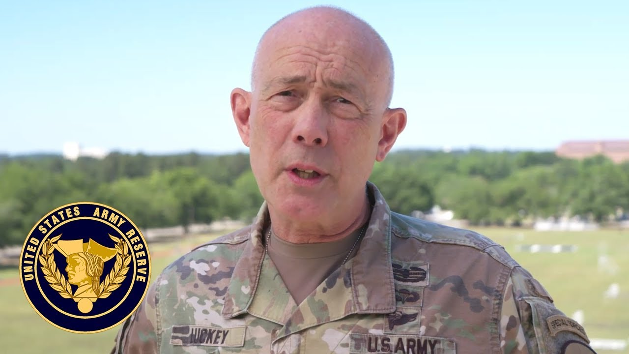 """Lt. Gen. Charles D. Luckey, chief of Army Reserve and commanding general, U.S. Army Reserve Command, wishes the entire United States Army a happy 244th birthday. It's a time to reflect on the achievements and responsibilities of """"the coolest and the finest institution in the history of civilization."""""""