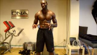 Tony Thomas Sports Muscular Chest Development Series At DNA Sports Lab