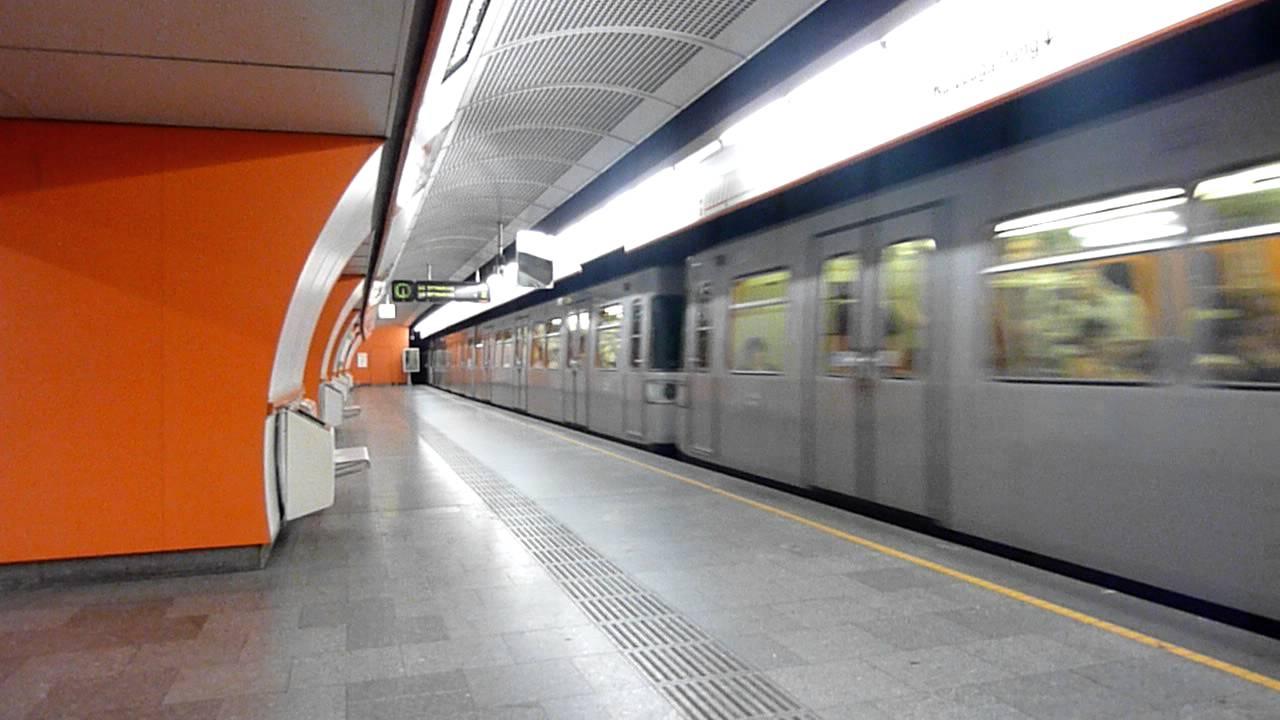 U3 Westbahnhof U Bahn Wien Youtube