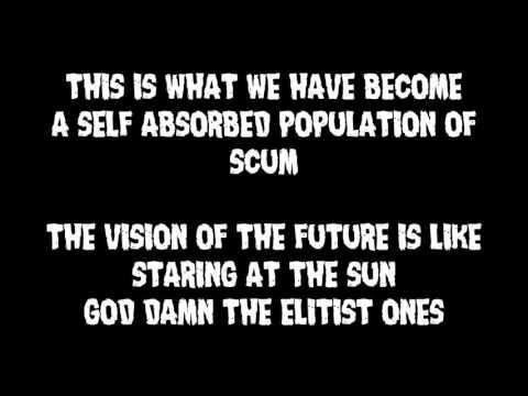 Whitechapel  - The Elitist Ones (Lyrics)