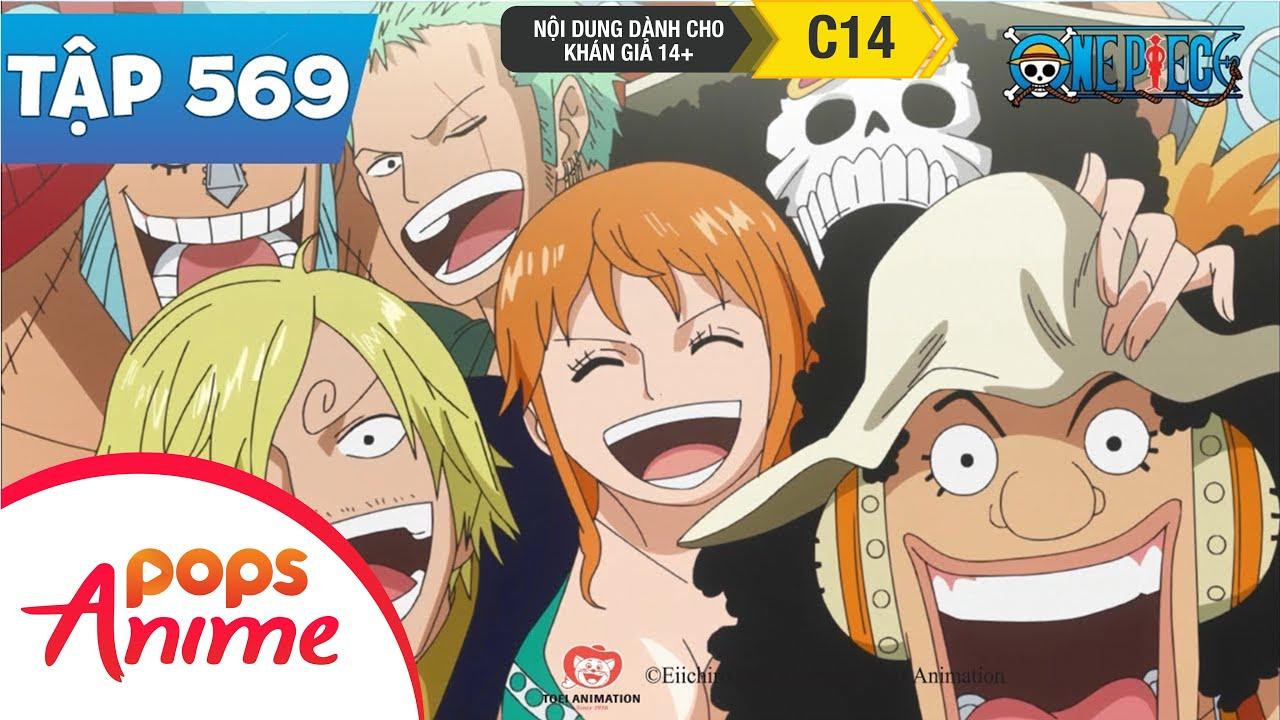One Piece Tập 569 - Bí Mật Được Tiết Lộ. Sự Thật Về Vũ Khí Cổ Đại - Đảo Hải Tặc