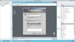Pass Trough Disk Windows Server 2012 Hyper-V