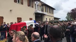 L'émouvant adieu au militaire Alain Bertoncello dans son village en Haute-Savoie