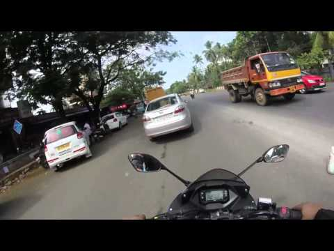 SHORT RIDE GIXXER 150 SF|COMPAIR WITH APACHE RTR 180& 160