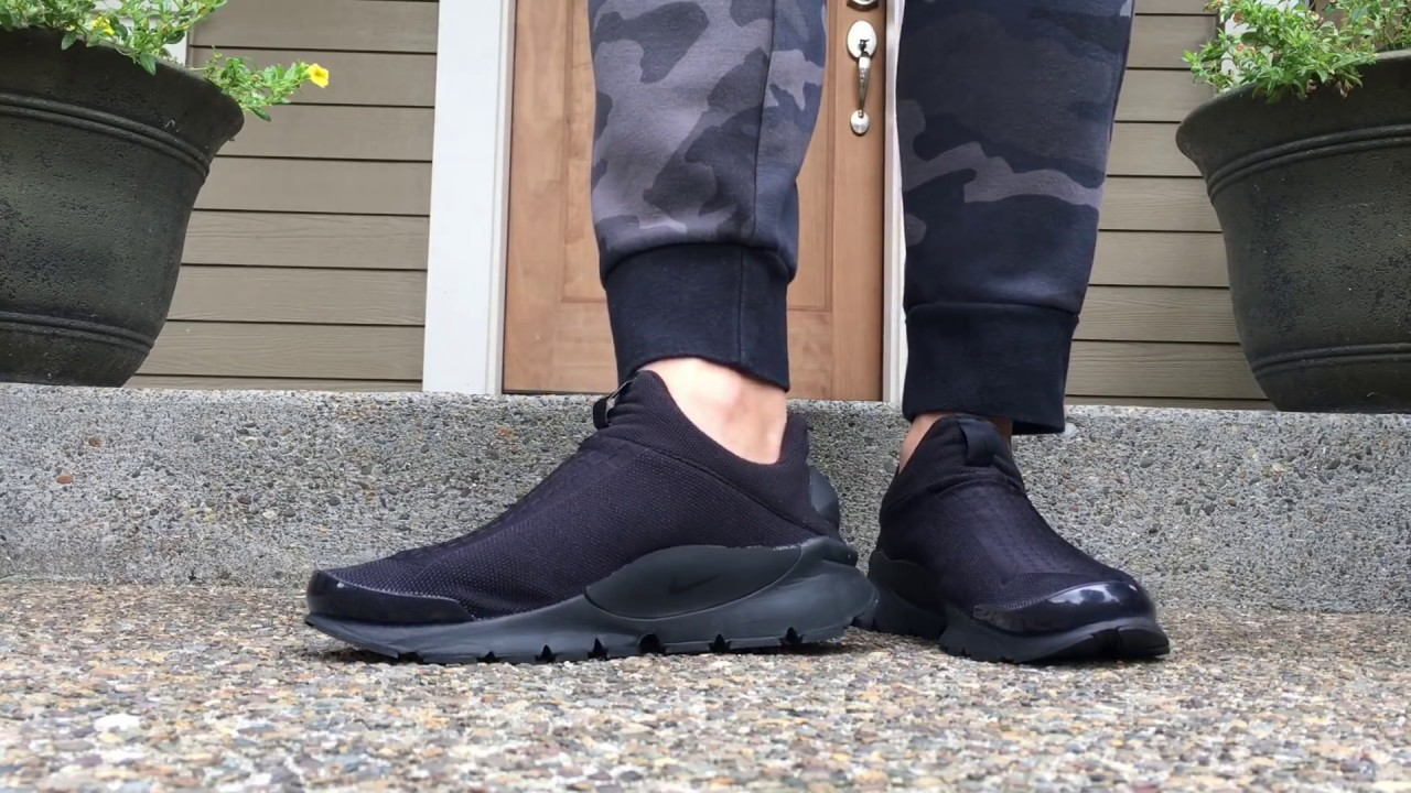 size 40 9c3ec 17aa6 CAGE REMOVAL ON NIKE SOCK DART TUTORIAL (TIME LAPSE / ON FEET)