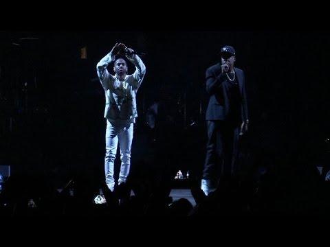 Jay Z, Beyoncé, Big Sean, Chance the Rapper & more perform at Clinton concert