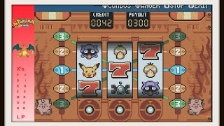 Pokemon Fire Red How TO HIT THE JACKPOT ON SLOT MACHINES IN THE GAME CORNER AND GET UNLIMITED COINS!