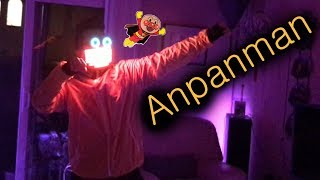 BTS // Anpanman dance cover but with cool lights synced to music in my room.