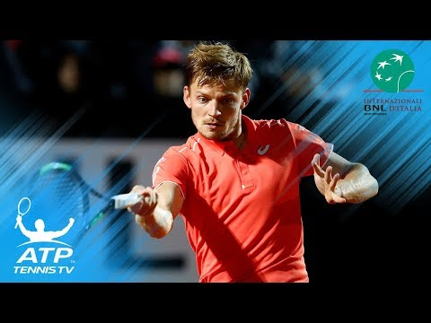Shapovalov edges Berdych; Goffin, Pouille fight through | Rome 2018 Highlights Day 3