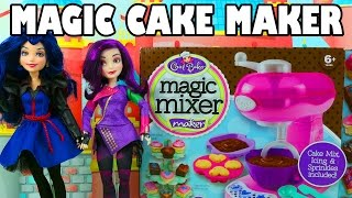 Mal And Evie Make Cupcakes & Brownies With The Magic Mixer. Disneytoysfan.