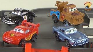 Игрушки Молния Маквин Паркинг гараж(Игрушки Молния Маквин Паркинг гараж / Toys Lightning Makvin Parking garage Игрушка предоставлена интернет-магазином