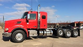 SOLD 2015 567 Peterbilt Heavy Haul 20/20/46 Axles 550 Cummins 18 Speed