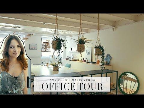 AMV OFFICE MAKEOVER #6 | OFFICE TOUR | Mafalda Sampaio