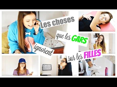 Les choses que les gars ignorent sur les filles... | ROMY