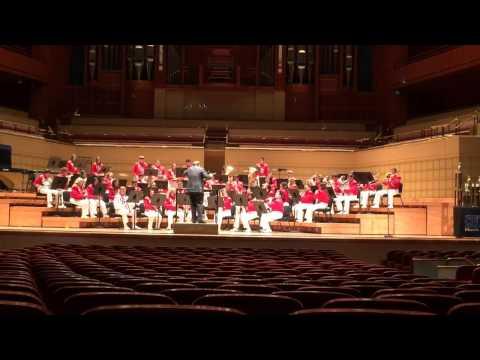 Bridge city high school band Dallas festival part 1